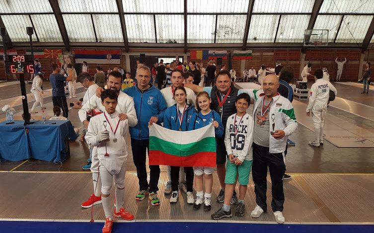 """Българската следа в """"13th Novi Sad Trophy"""" и EFC U14 Circuit"""