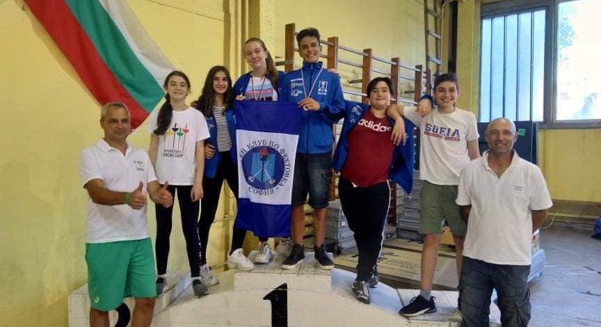 "Клуб ""София"" участва във фехтовален маратон в Пловдив!"