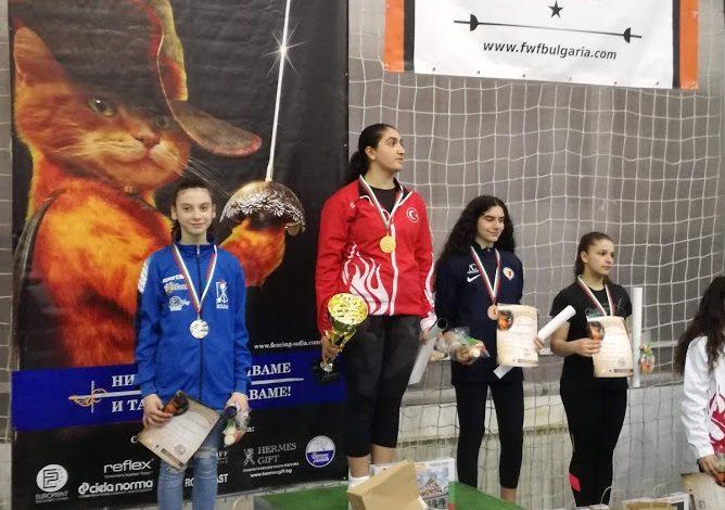 Сребро за Жени Младенова на Европейската купа в София!