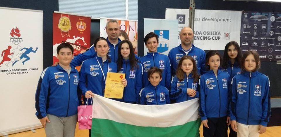 Взехме три бронза от ЕК до 14  и международния турнир в Осиек-Хърватска!